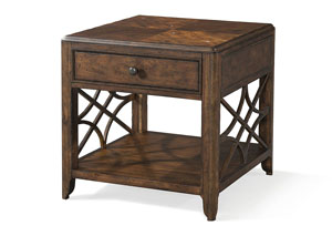 Georgia Rain One Drawer End Table