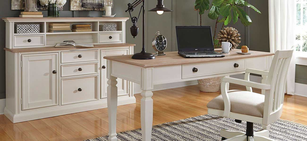 Modern Home Office Space From Squan Furniture